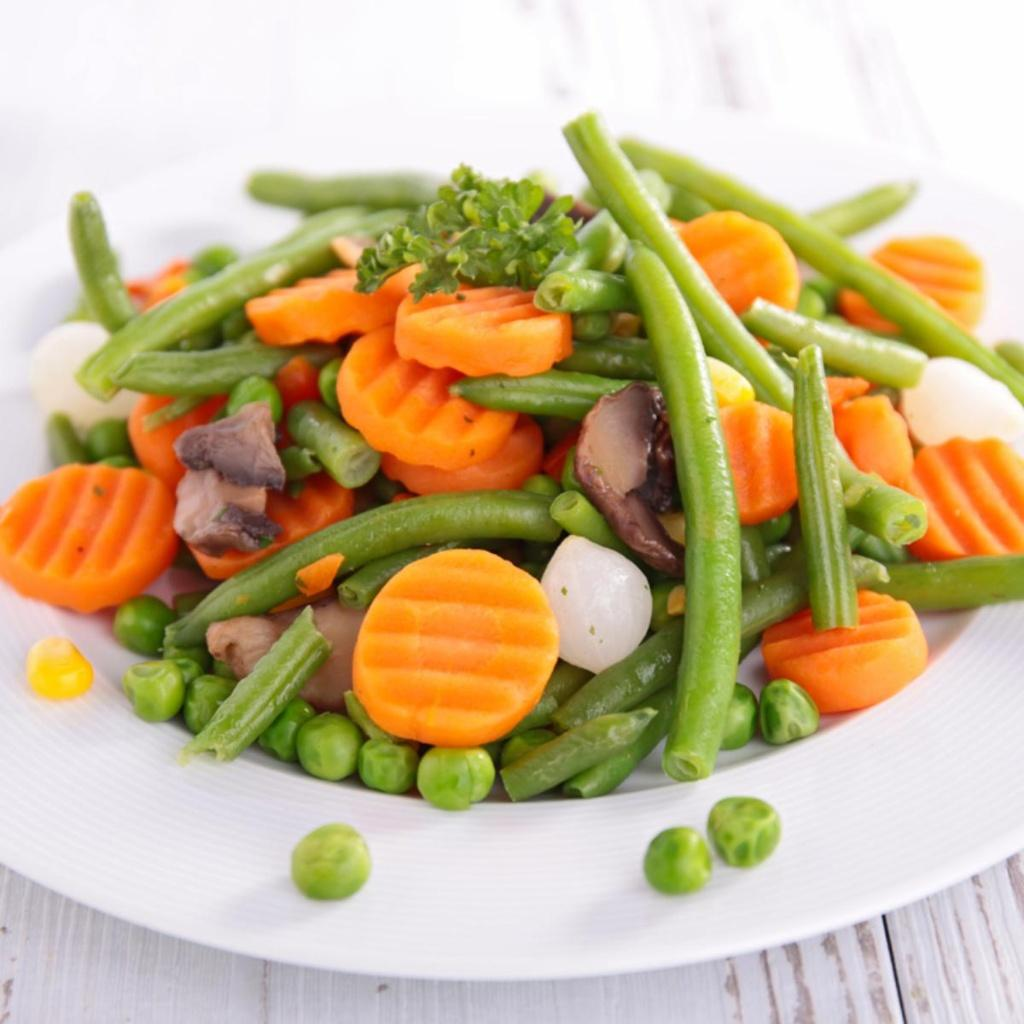 Bolied Vegetables