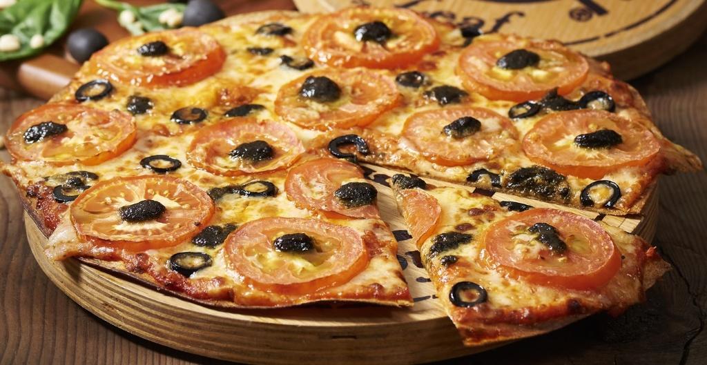 Arrabbiata Chicken Pizza