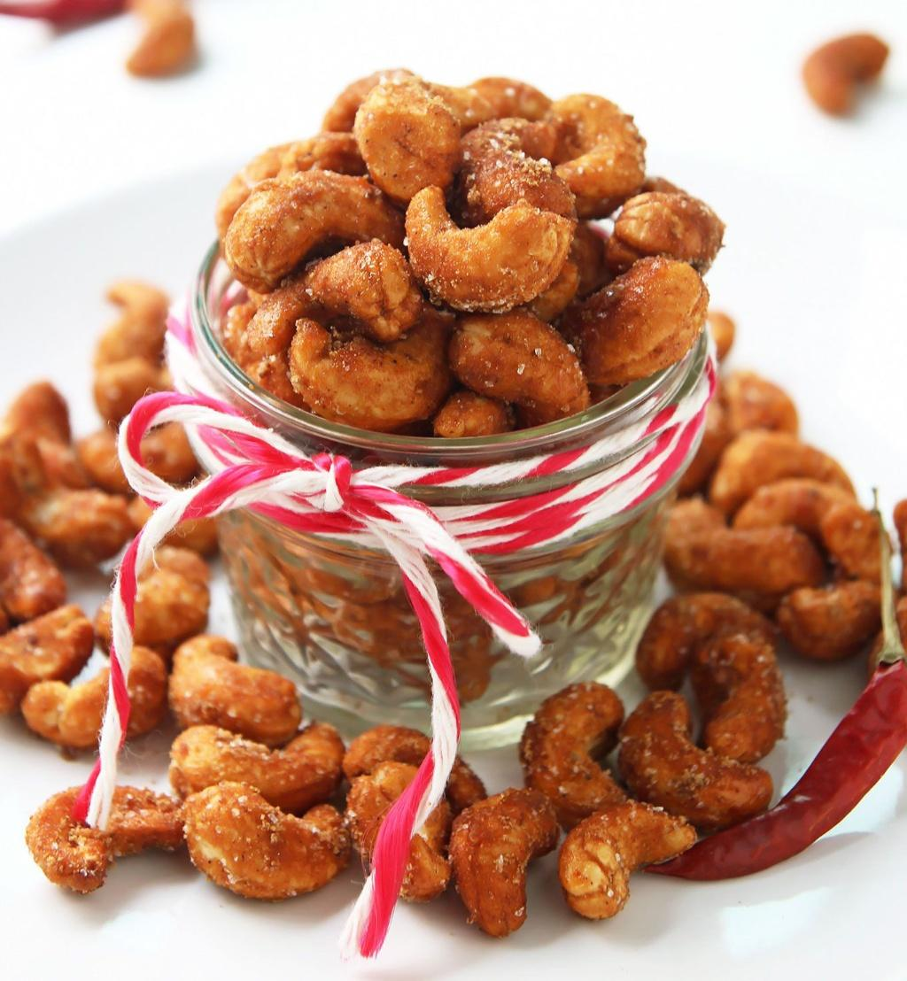 Roasted Spicy Cashew Nuts