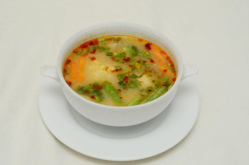 Spicy Vegetable Soup - Tom Yam Pak