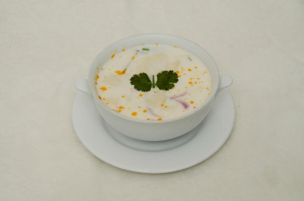 Coconut Mushroom Soup - Tom Kha Het