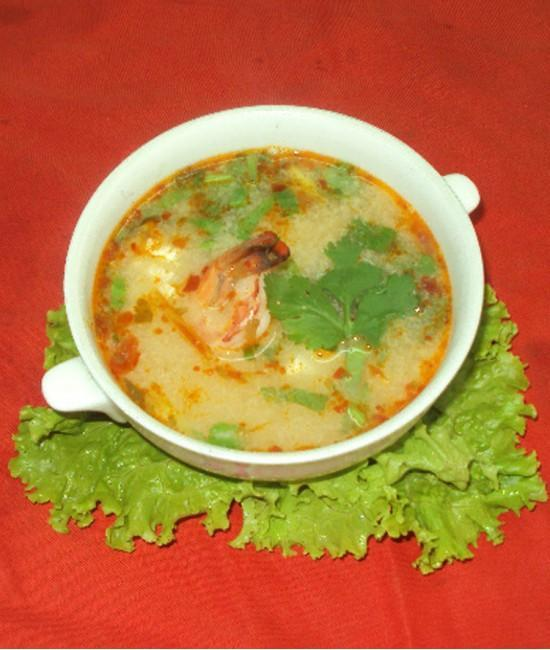 Spicy Prawn Soup - Tom Yam goong