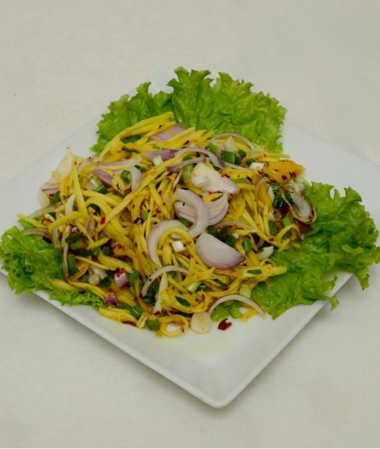 Jack Fruit and Mango Salad - Yum Ma Meung