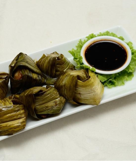 Pandun Leaf Chicken ( 6 pcs) - Gai Hor Bai toey