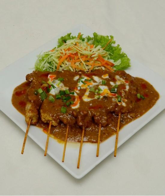Satay Chicken - Satay Gai