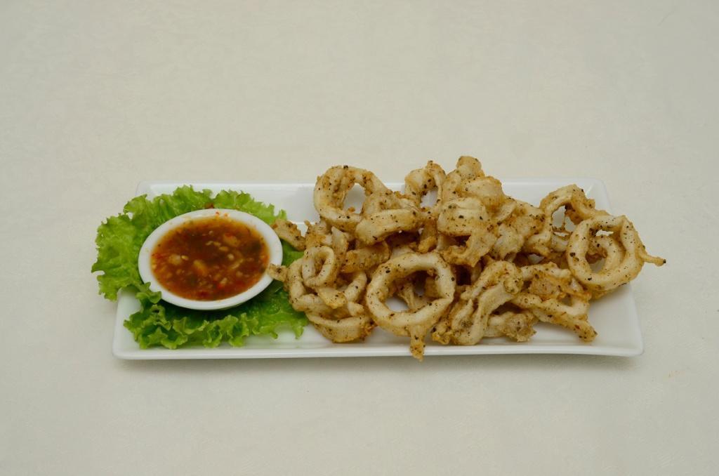 Hot Butter Cuttlefish  - Pla Murk Tot Phad Noey
