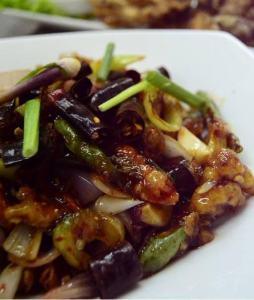 Tamarind Vegetables - Pak Phad Num Makham