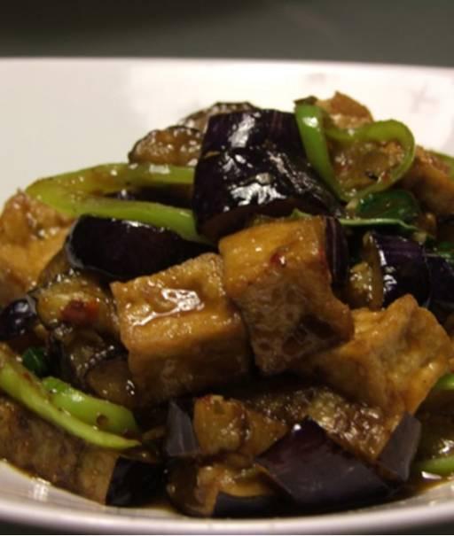 Eggplant Tofu - Phad Ma Keua Muang Gab Tao Hu