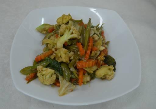 Mix Vegetables - Phad Pak Ruam