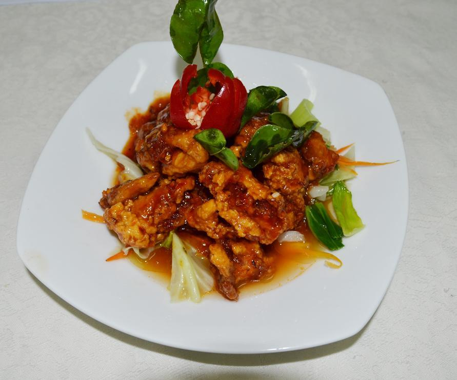 Sweet and Sour Fish - Pla Phad Preow Wan