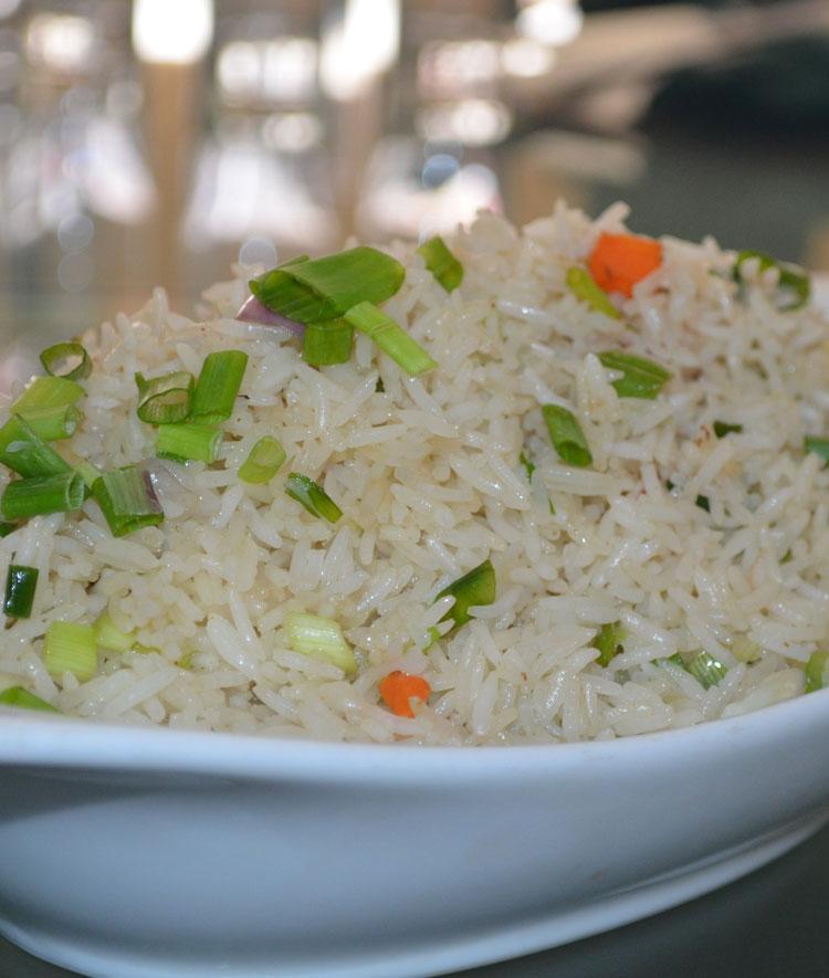 Vegetable Fried Rice - Khao Phad Phak
