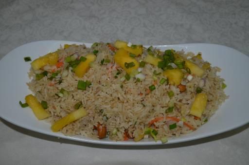 Pineapple Fried Rice - Khao Phad Sab Parod