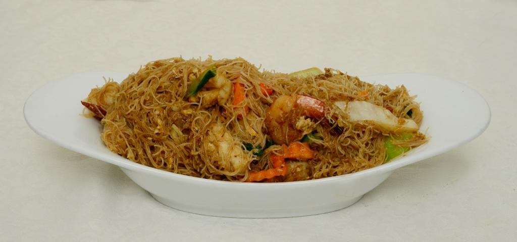 Seafood Thin Noodles - Phad See Eiw Phak