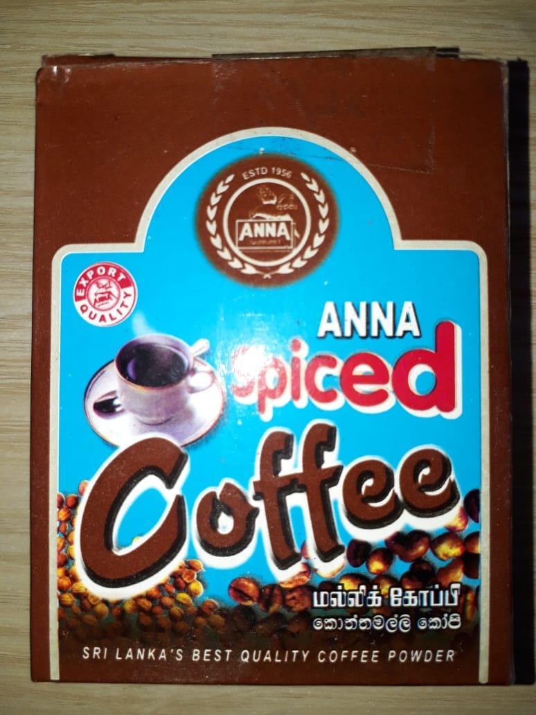Anna Spiced Coffee
