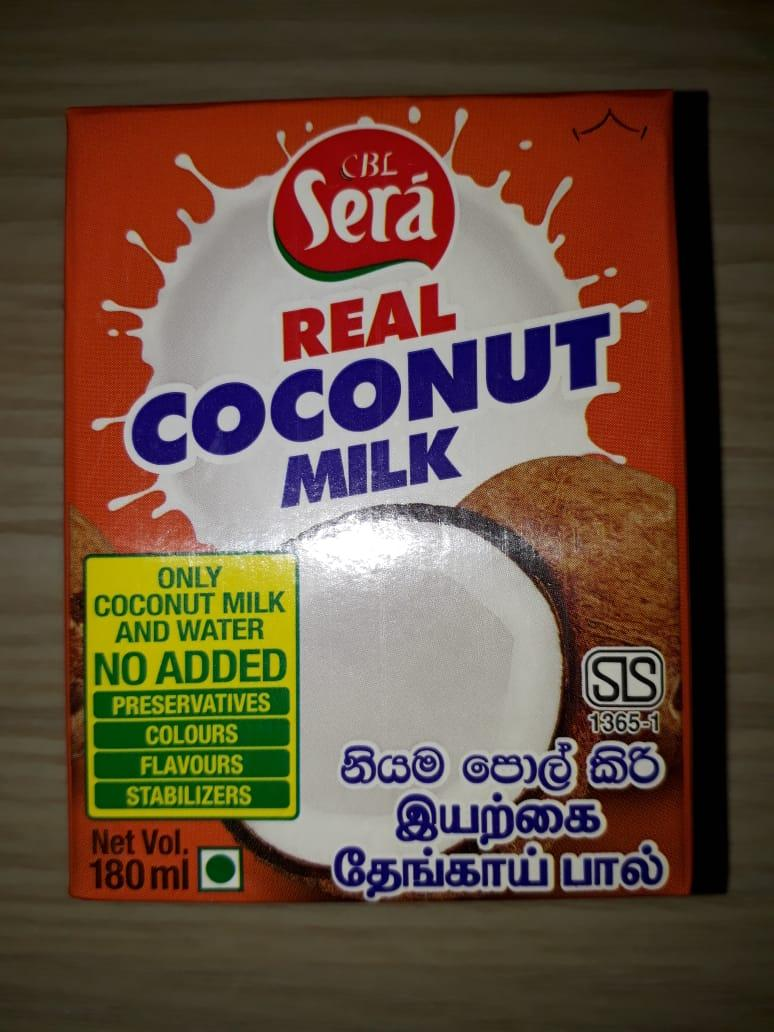 Image for Real Coconut Milk