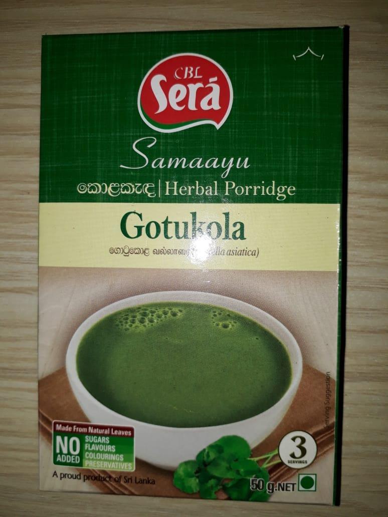 Herbal Porridge (Gotukola)