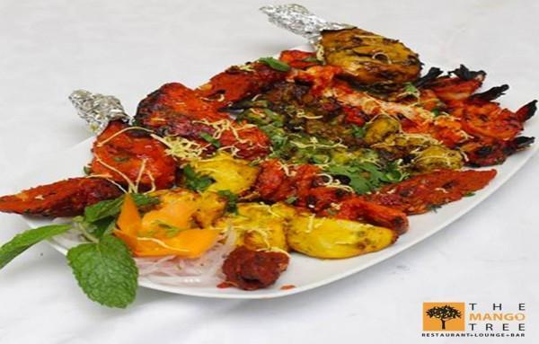 Murg Mutton Kebab Platter