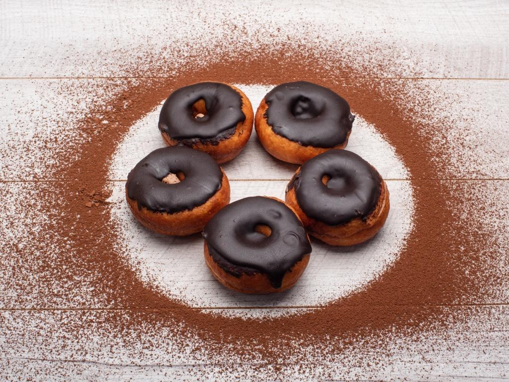 Chocolate Doughnut - 2Nos