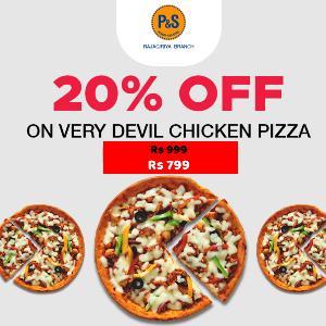 Frozen Devil Chicken Pizza - Offer