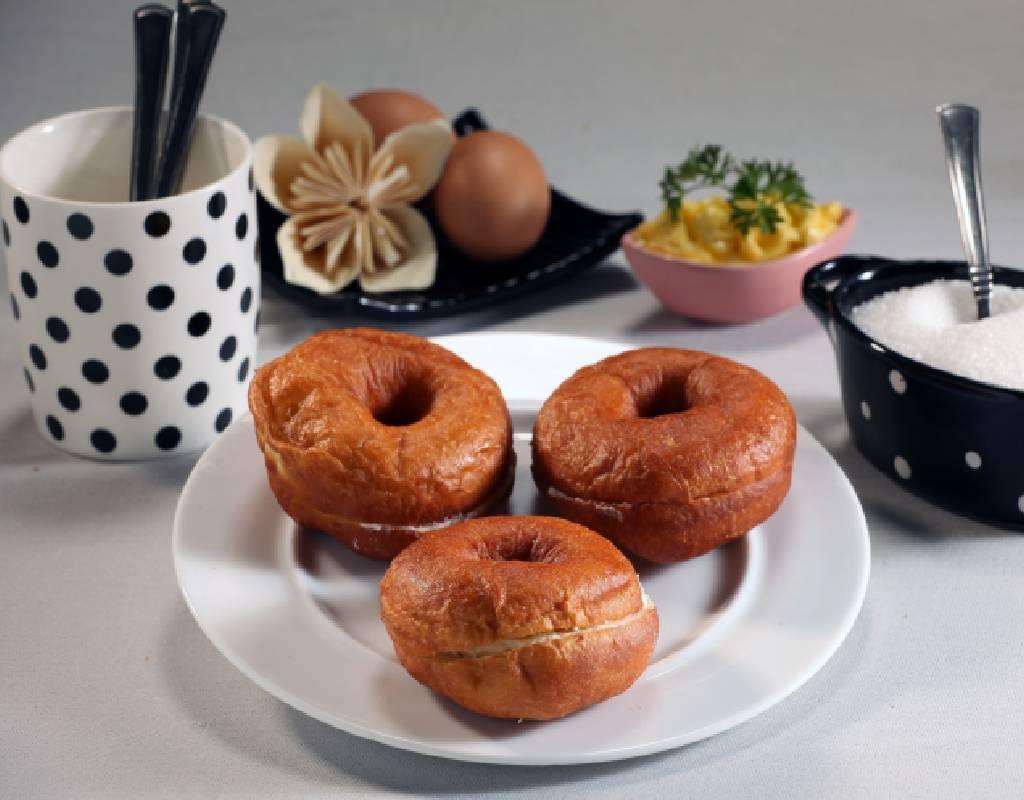 Vanilla Doughnut - 2Nos